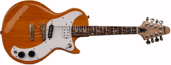 Gibson Marauder inspired mandolin