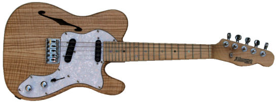 Thinline Tele 5-1 electric mandolin guitarra baiana