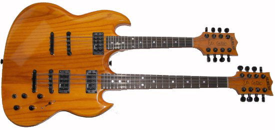 Doubleneck mandolin