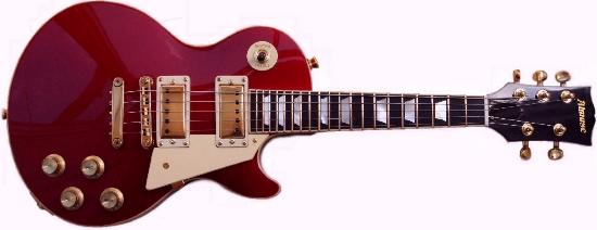 Les Paul style 5 string mandolin