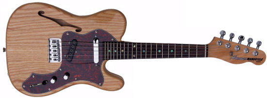 Thinline Tele 5-2 electric mandolin guitarra baiana